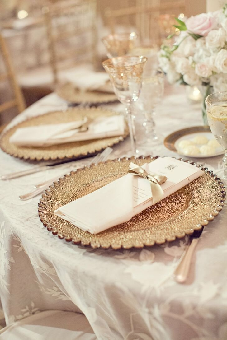 Gold and Ivory Wedding Decor Unique Gold and Ivory Table Decor