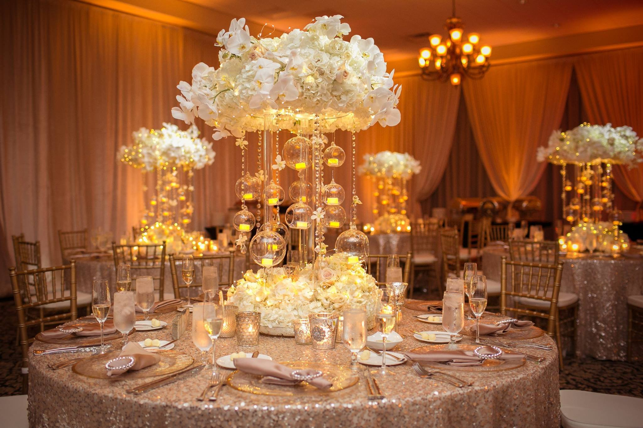 Gold and Ivory Wedding Decor Unique Ivory and Gold Bella Collina Wedding A Chair Affair Inc