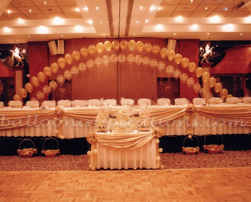 Gold and Ivory Wedding Decor Unique Wedding Balloon Decorations Ivory and Gold Ballooninspirations