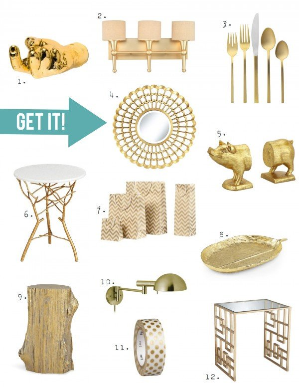 Gold and Silver Home Decor Best Of Home Decor Trend A touch Of Gorgeous Gold