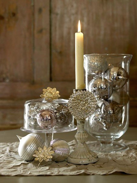 Gold and Silver Home Decor Inspirational 30 Sparkling Gold and Silver Christmas Decorations sortra