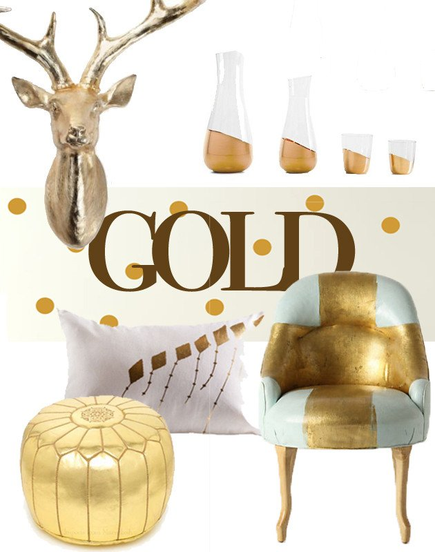 Gold and Silver Home Decor Inspirational Metallic Mania Decorating with Gold Silver and Copper the Interior Collective