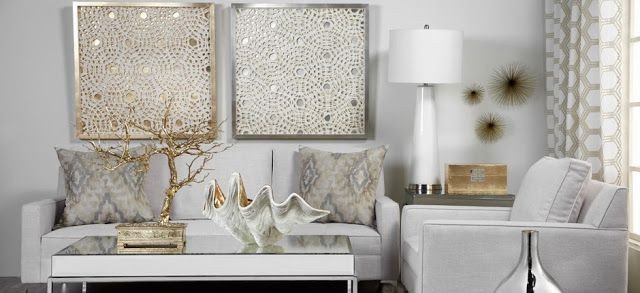 Gold and Silver Home Decor Luxury Decorating Cents Mixing Metals In Home Decor Color Metallic Home Decor Pinterest