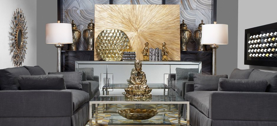Gold and Silver Home Decor New Home Decor Mixed Metals