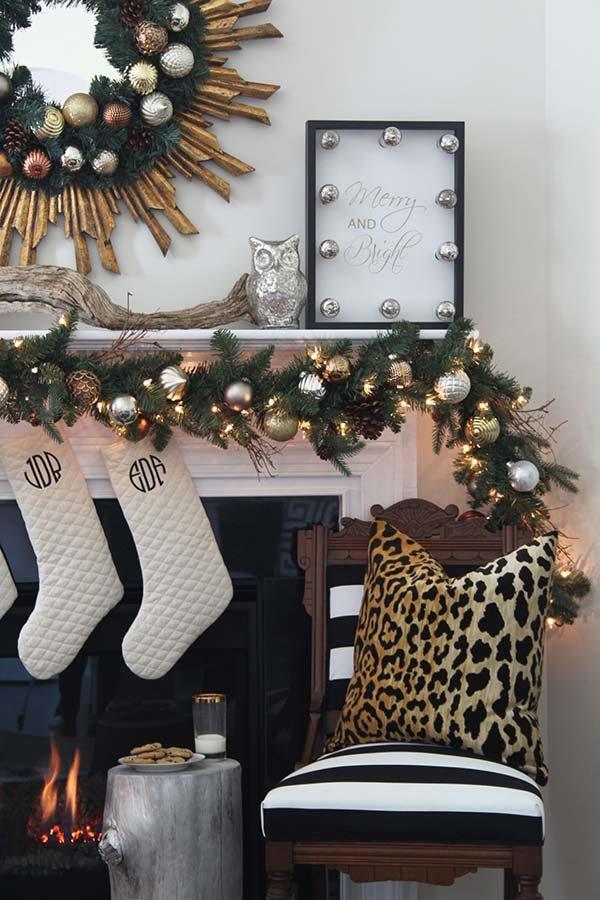Gold and Silver Home Decor Unique A Christmas Decor In Gold Silver and Copper