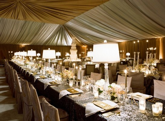 Gold and Silver Wedding Decor Awesome Silver Wedding Ideas 12 Ways to Use Silver In Your Décor Inside Weddings