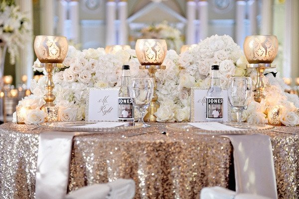 Gold and Silver Wedding Decor Fresh White Silver & Gold Wedding at the Biltmore Ballrooms In atlanta Inside Weddings