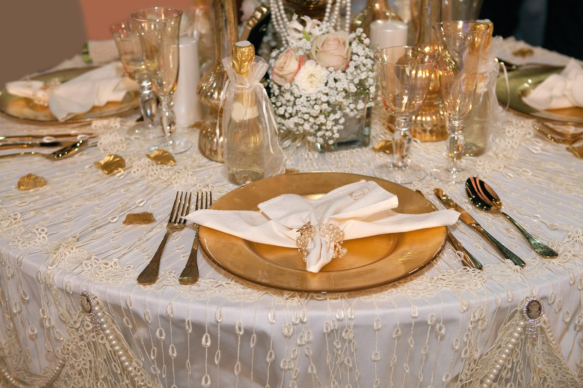 Gold and Silver Wedding Decor Inspirational Go for the Gold with Metallic Wedding Colors