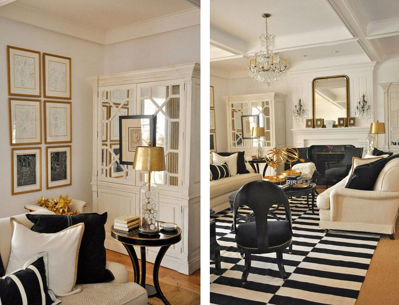 Gold and White Bedroom Decor Beautiful Black & Gold tones that Beautify Your Home
