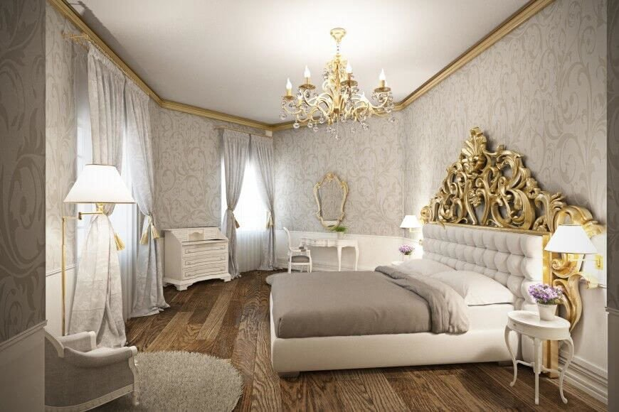 Gold and White Bedroom Decor Luxury 28 Beautiful Bedrooms with White Furniture Pictures