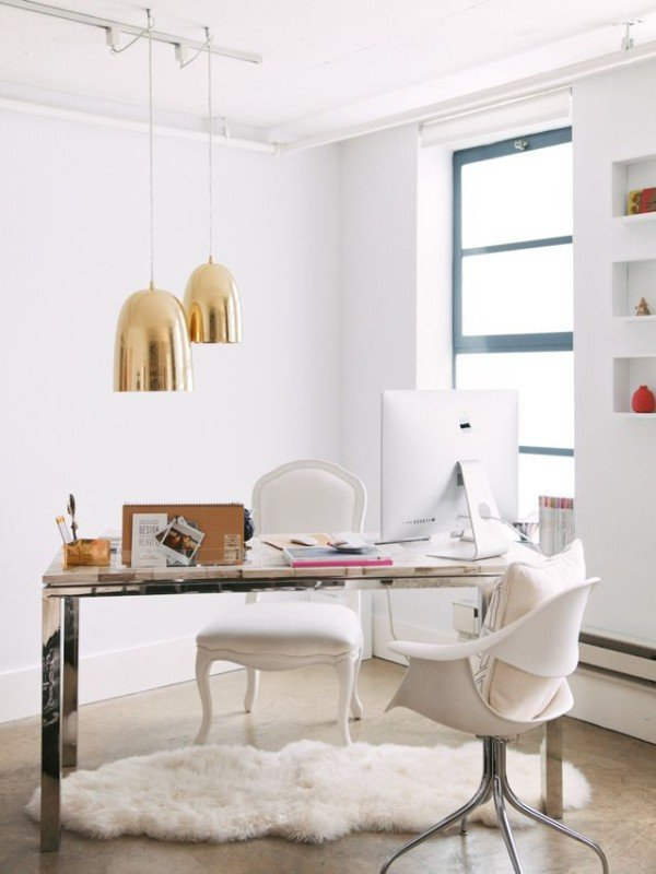 Gold and White Office Decor Awesome White Gold Home Office Daily Dream Decor
