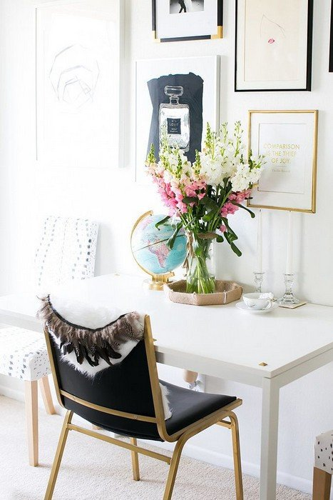 Gold and White Office Decor Fresh 24 Fices You Would Definitely Love to Have Messagenote