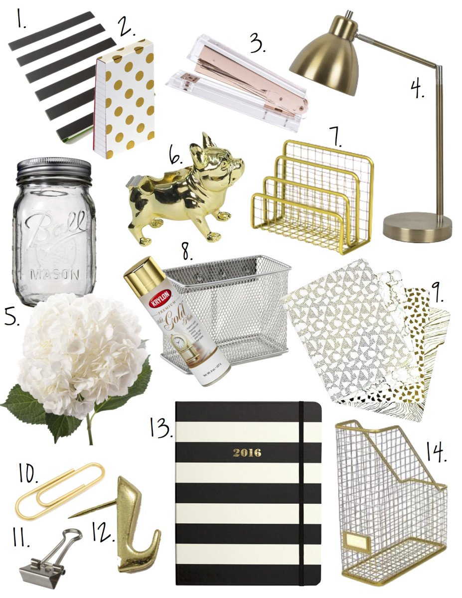 Gold and White Office Decor Inspirational Black White Gold Fice Decor