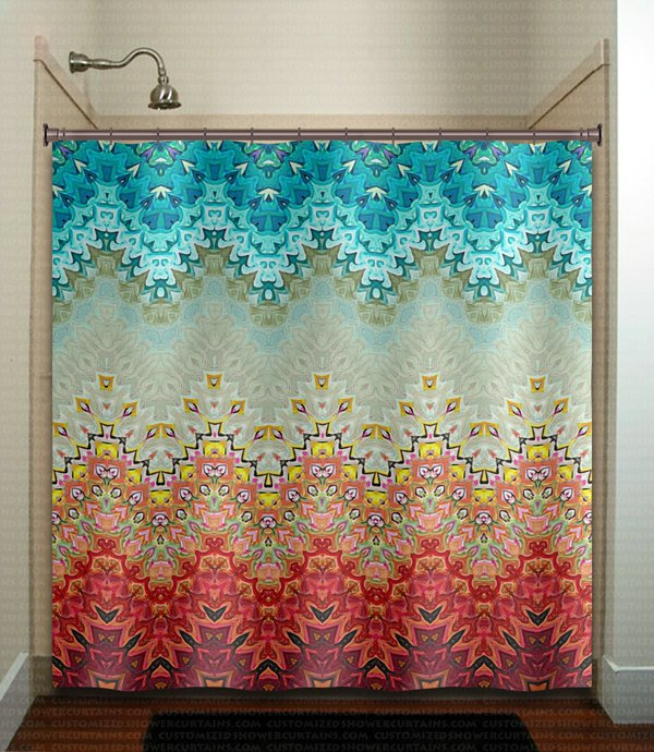 Gray and Turquoise Bathroom Decor Awesome Beautiful Fire and Ice Gray Turquoise Shower Curtain Bathroom