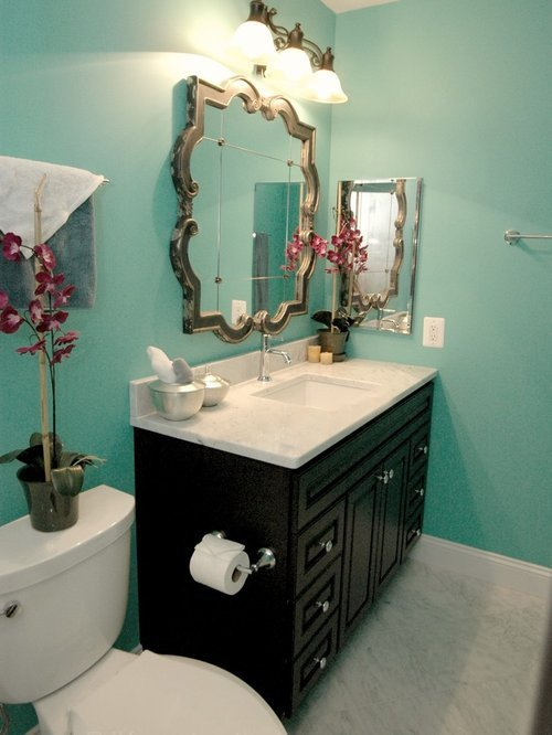 Gray and Turquoise Bathroom Decor Elegant Turquoise Bathroom