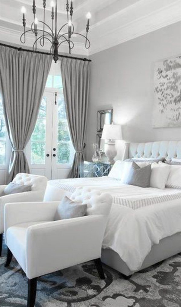Gray and White Bedroom Decor Fresh Modern Bedrooms Black to White Shading with A Red touch