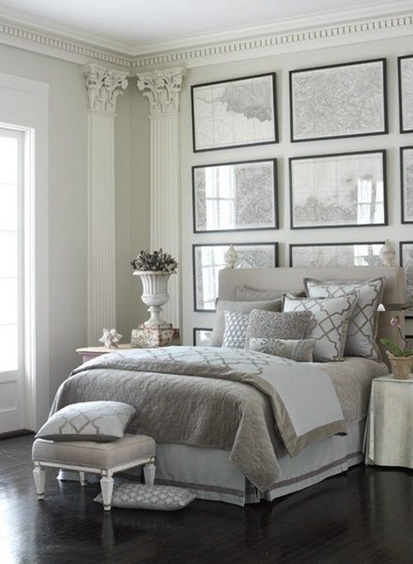 Gray and White Bedroom Decor Lovely Creative Ways to Make Your Small Bedroom Look Bigger Hative