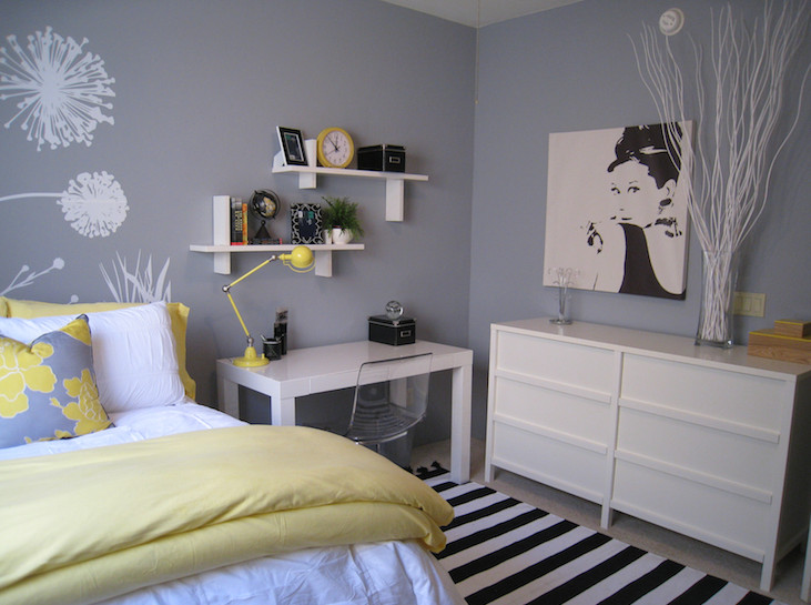 Gray and Yellow Bedroom Decor Awesome Yellow and Gray Bedroom Contemporary Bedroom Benjamin Moore Pigeon Gray