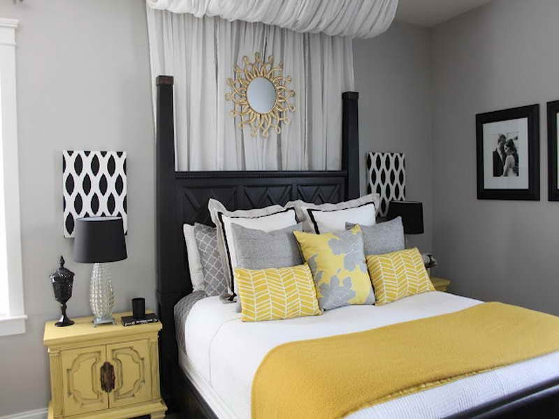 Gray and Yellow Bedroom Decor Awesome Yellow and Gray Bedroom Decorating Ideas Decor Ideasdecor Ideas