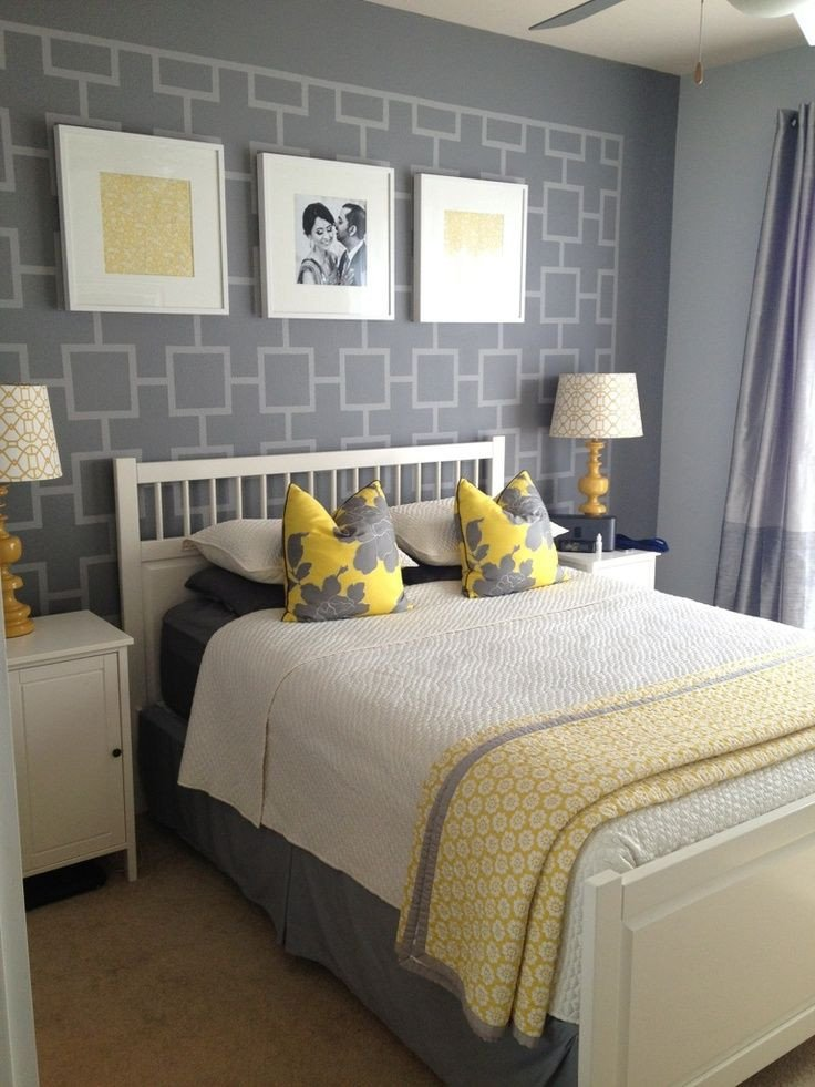 Gray and Yellow Bedroom Decor Unique Gray and Yellow Bedroom Ideas Another Shot Of Grey and Yellow Bedroom