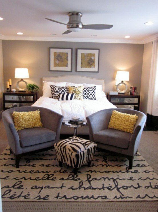 Gray and Yellow Bedroom Decor Unique Home Decorating Trends 2014 Yellow Decorated Life