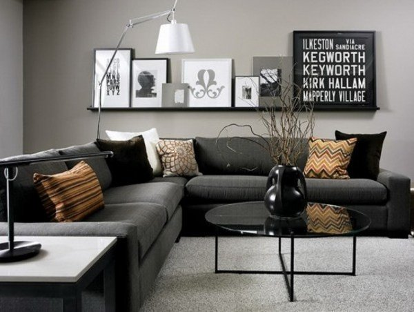 Gray Contemporary Living Room Awesome Modern Living Room Ideas Interior Design Tips