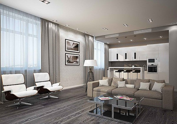 Gray Contemporary Living Room Best Of 15 Modern White and Gray Living Room Ideas