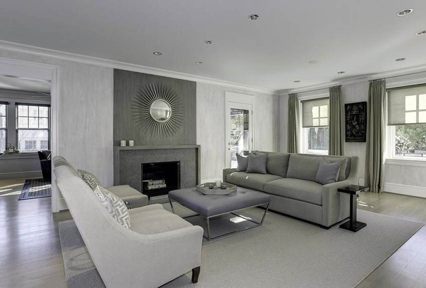 Gray Contemporary Living Room Best Of Gray Living Room Ideas Design Designing Idea