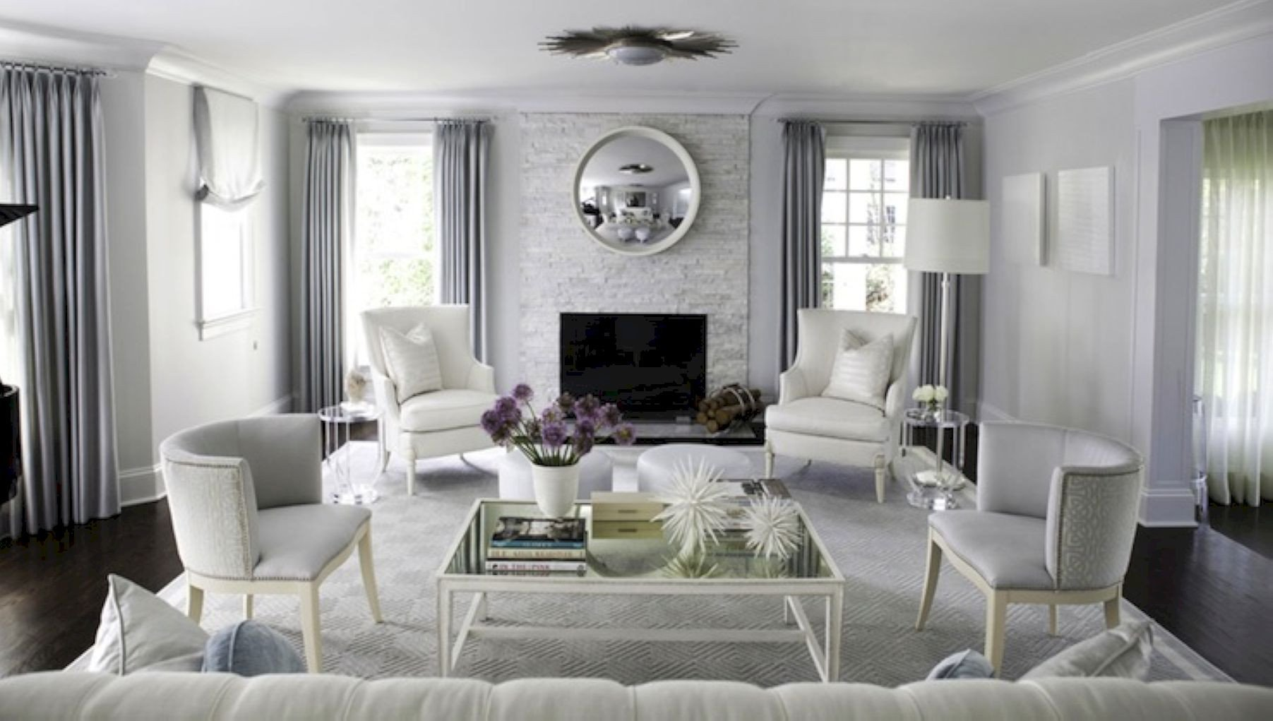 Gray Living Room Decor Ideas Beautiful 70 Stunning Gray and White Living Room Decor Ideas Roundecor