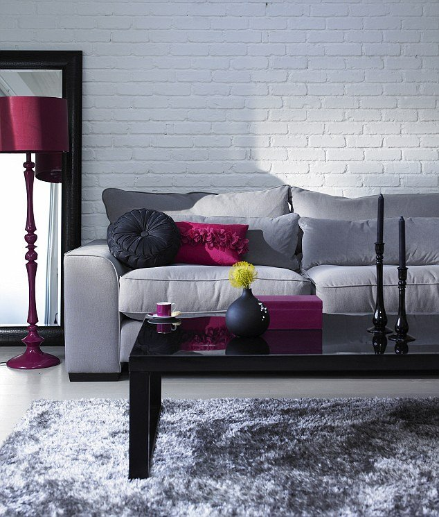 Gray Living Room Decor Ideas Elegant From Stylish Silver to Steel Slate and Stone Grey is This Season¿s Colour with Clout