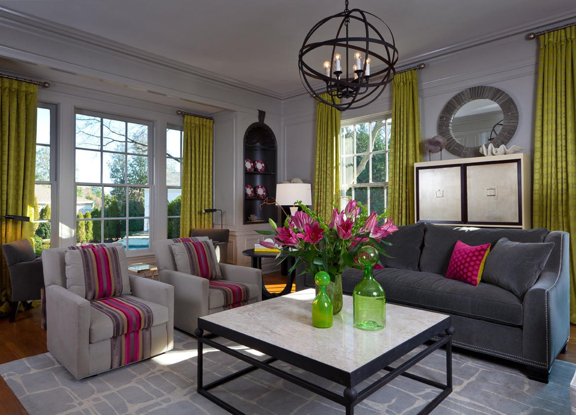 Gray Living Room Decor Ideas New Eye for Design Decorating Your Interiors with Pink and Grey