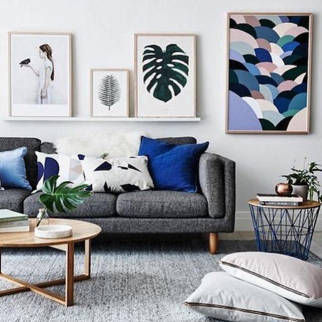 Gray sofa Living Room Decor Fresh Living Room Inspiration How to Style A Grey sofa – the Habitat