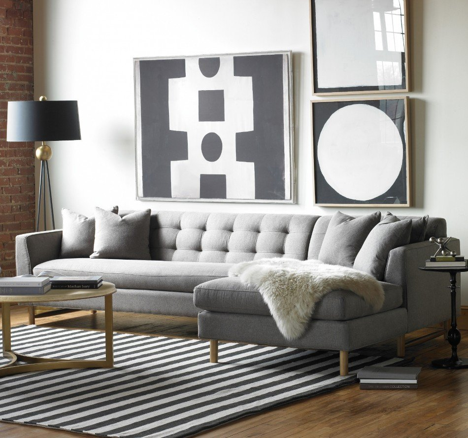 Gray sofa Living Room Decor Lovely Designing Rooms with An L Shaped sofa Feng Shui Interior Decor