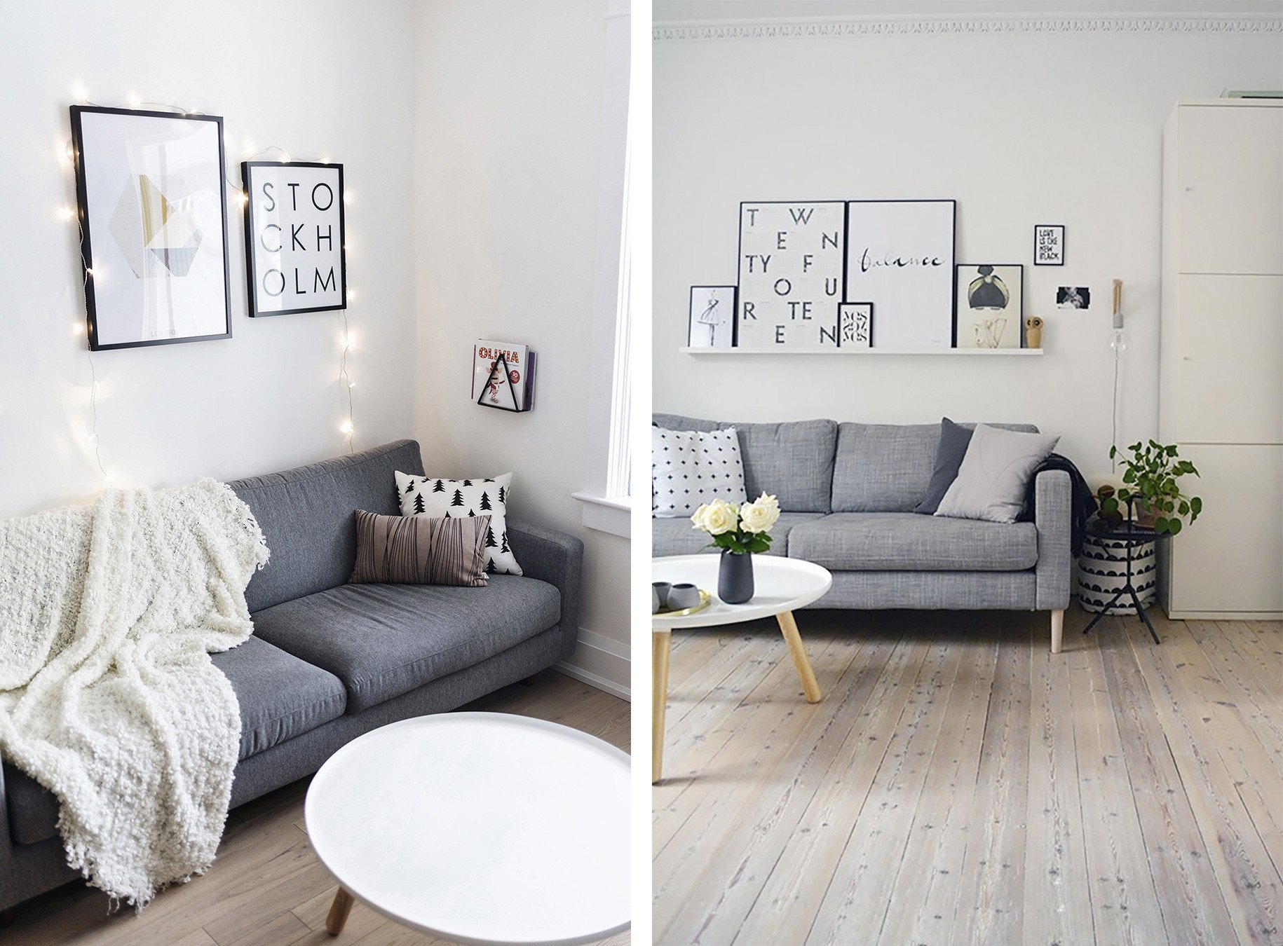 Gray sofa Living Room Decor New top 10 Tips for Adding Scandinavian Style to Your Home