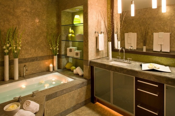 Green and Brown Bathroom Decor Awesome 20 Lime Green Bathroom Designs Ideas
