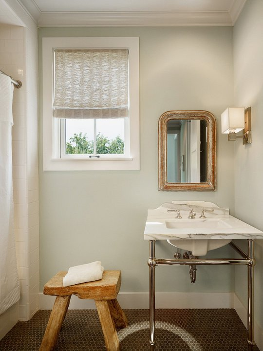 Green and Brown Bathroom Decor Beautiful Green and Brown Bathroom Design Cottage Bathroom Dillon Kyle Architecture