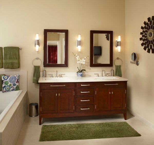 Green and Brown Bathroom Decor Fresh Decorating with Green 52 Modern Interiors to Accentuate Freshness
