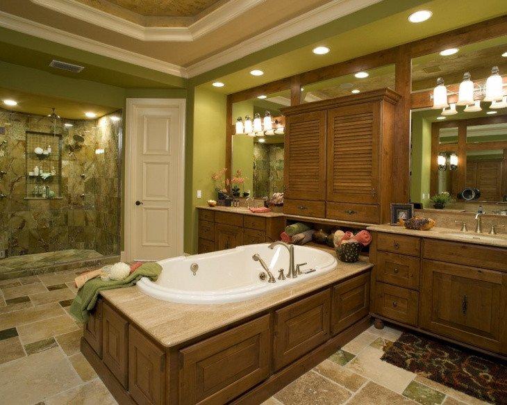 Green and Brown Bathroom Decor Unique 20 Green Bathroom Designs Ideas