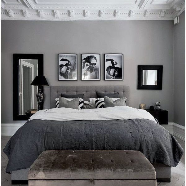 Grey and White Bedroom Decor Beautiful top 60 Best Grey Bedroom Ideas Neutral Interior Designs
