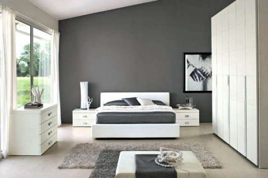 Grey and White Bedroom Decor Elegant 16 Modern Grey and White Bedrooms
