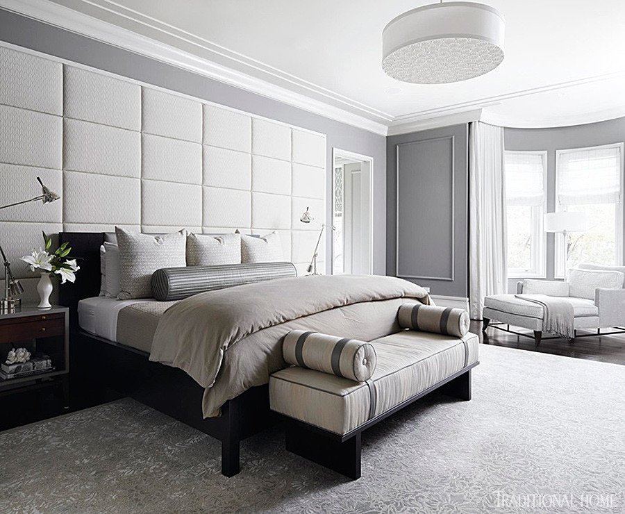 Grey and White Bedroom Decor Unique Gorgeous Gray and White Bedrooms