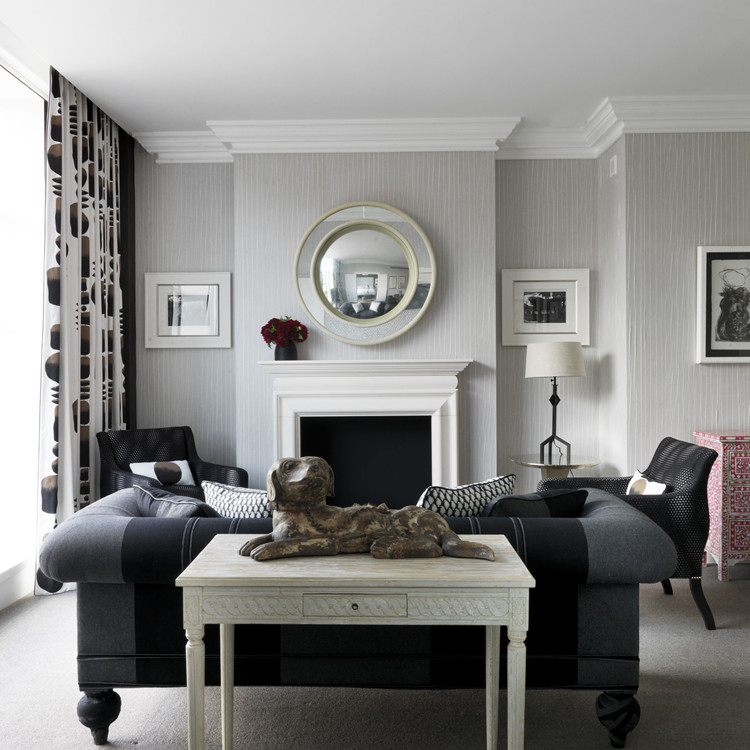 Grey and White Home Decor Awesome 4 Elegant All Grey Living Rooms
