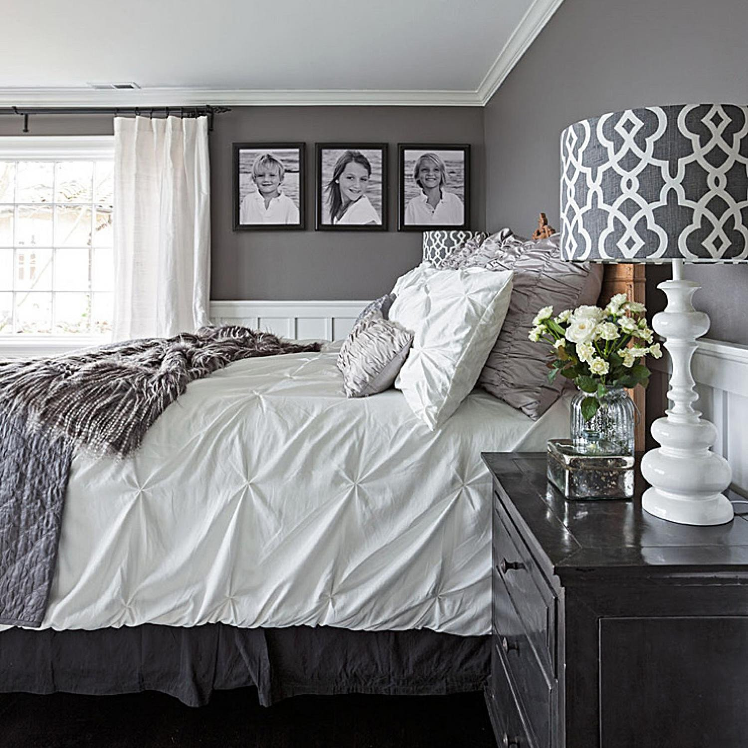 Grey and White Home Decor Awesome Gorgeous Gray and White Bedrooms