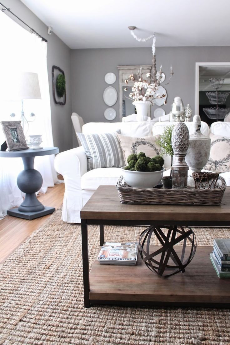 Grey and White Home Decor Beautiful French Country Decor