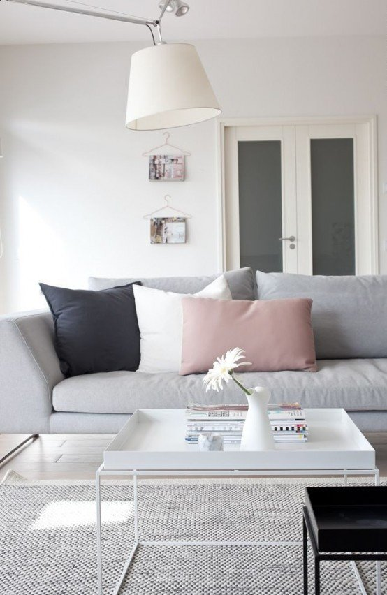 Grey and White Home Decor Beautiful Metallic Grey and Pink 27 Trendy Home Decor Ideas Digsdigs