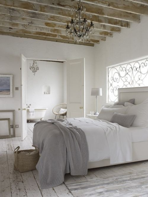 Grey and White Home Decor Inspirational White and Gray Rustic Country Bedroom Distressed Wood Floor Love It