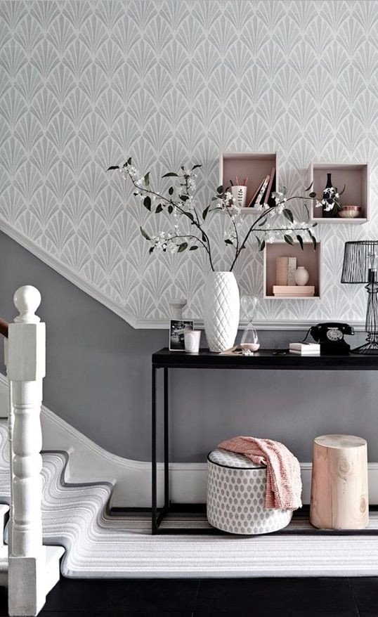 Grey and White Home Decor Luxury Metallic Grey and Pink 27 Trendy Home Decor Ideas Digsdigs