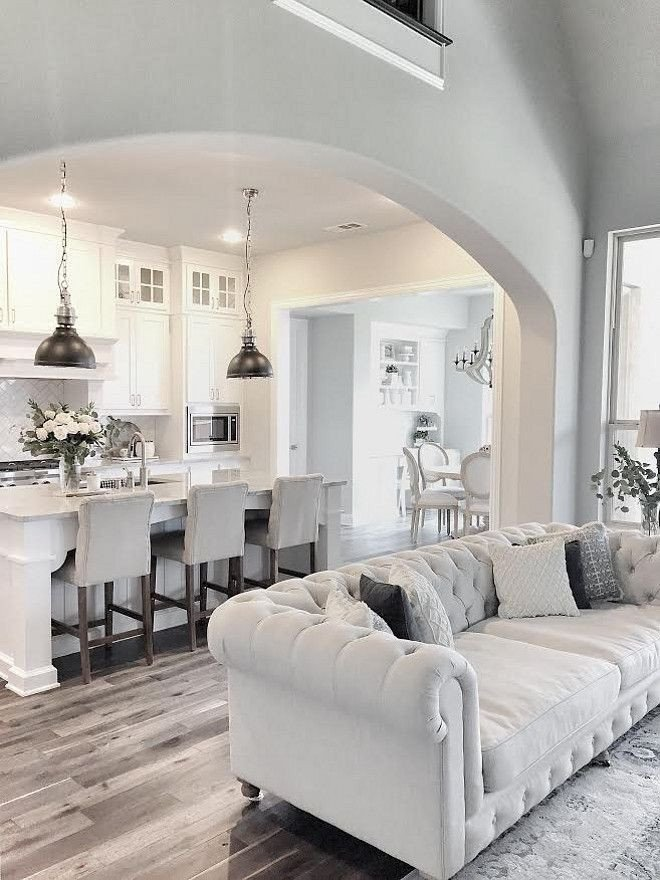 Grey and White Home Decor Unique Love This Fresh & Clean White Kitchen Accented with touches Of Grey Home Decor