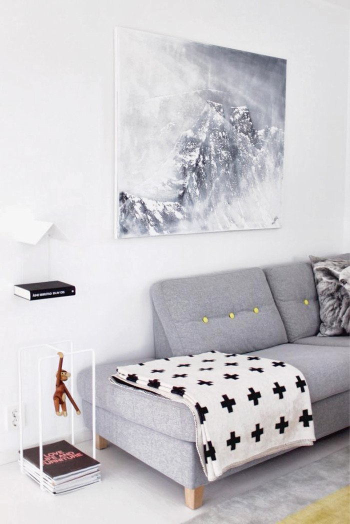 Grey and White Wall Decor New Grey sofa White Walls & Wall Art Culture Scribe