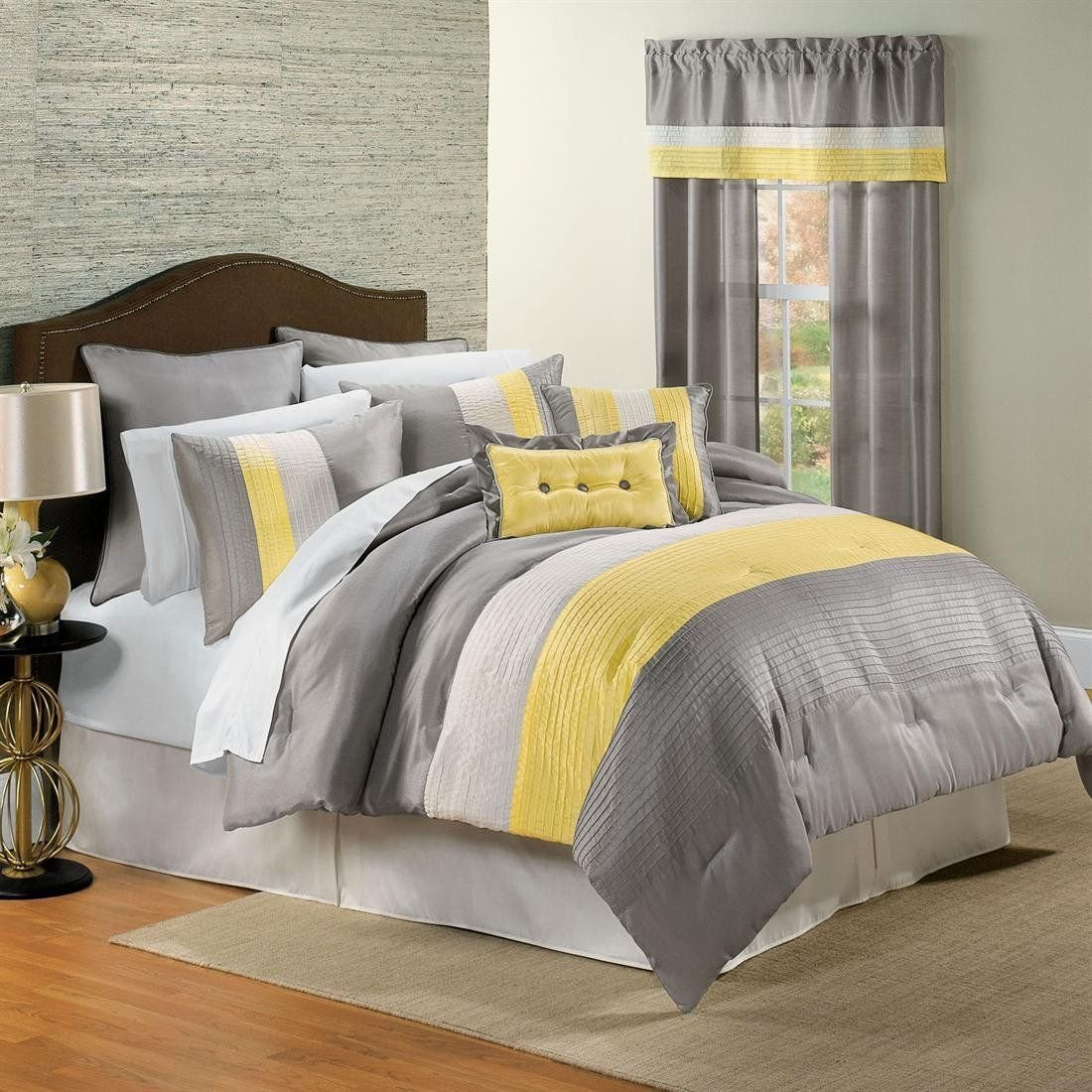Grey and Yellow Bedroom Decor Inspirational Yellow and Gray Bedding that Will Make Your Bedroom Pop